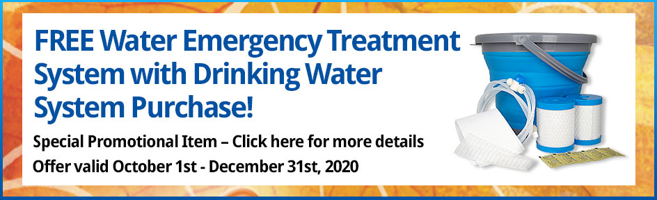 FREE Water Emergency Treatment System